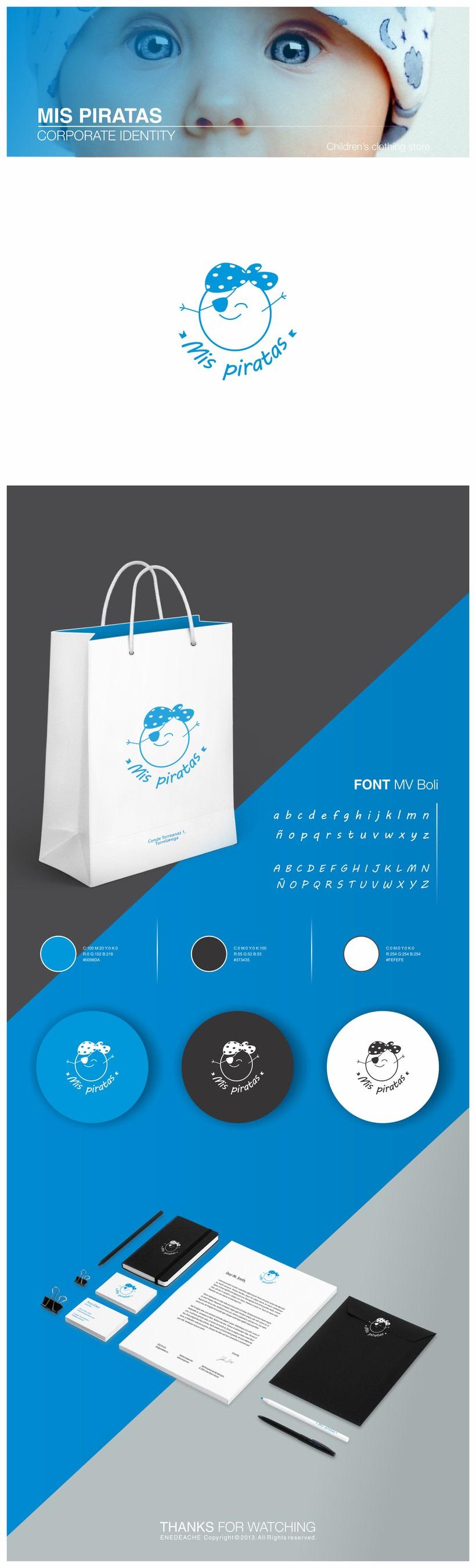 MIS PIRATAS // Corporate identity -1