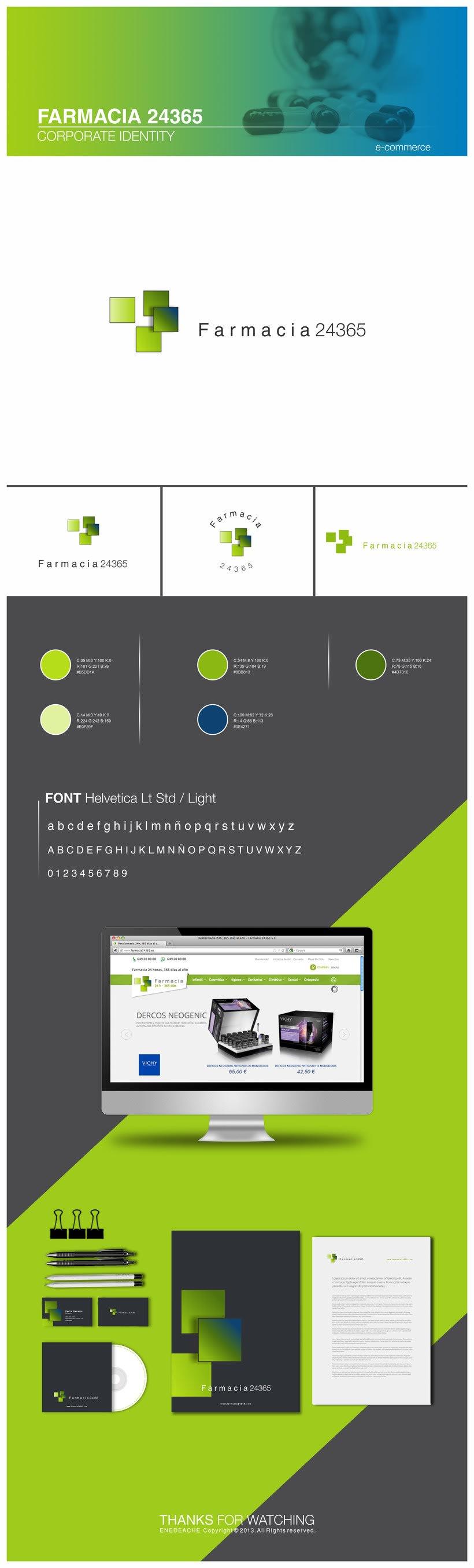 FARMACIA 24365 // Corporate identity -1