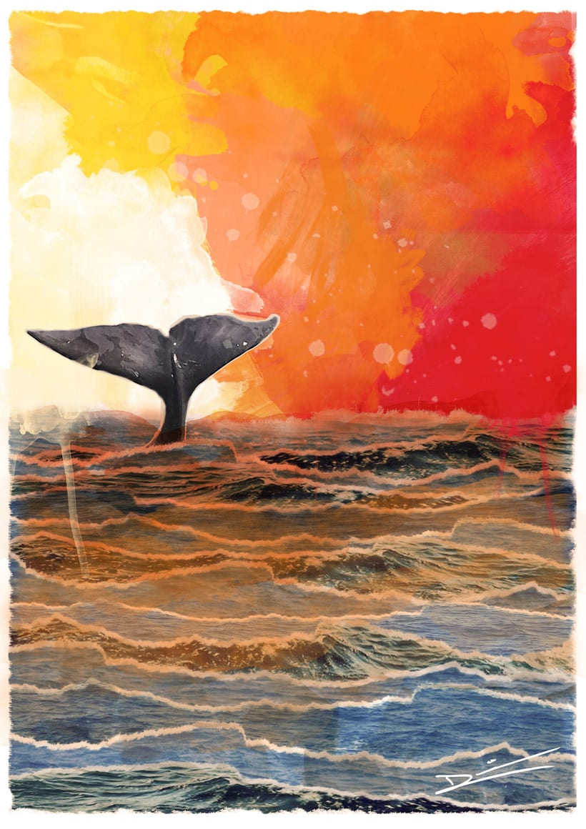 Day and night whale 1