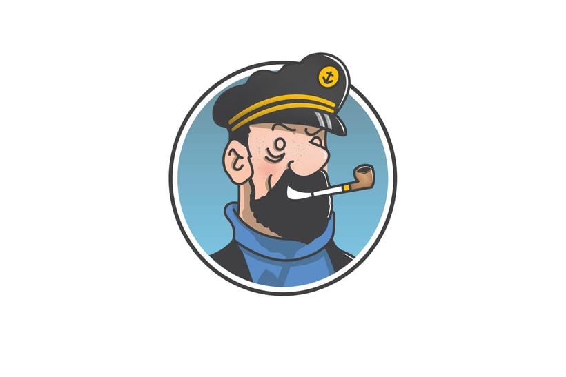 """Diseño de personajes de """"Las Aventuras de Tintín"""" 4"""