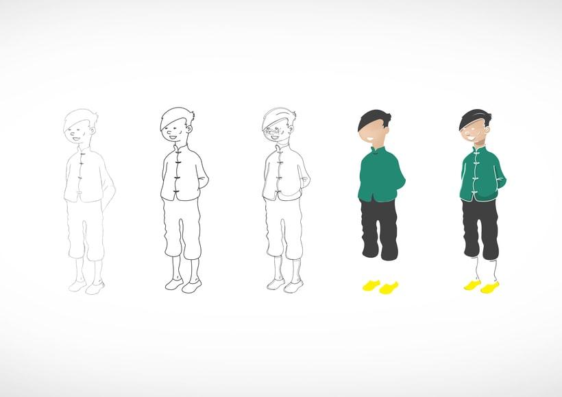 """Diseño de personajes de """"Las Aventuras de Tintín"""" 11"""