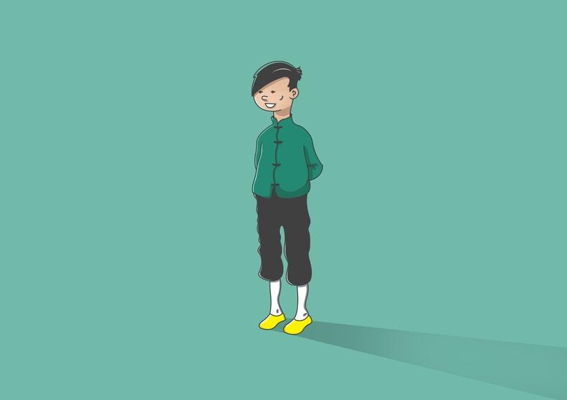"""Diseño de personajes de """"Las Aventuras de Tintín"""" 12"""