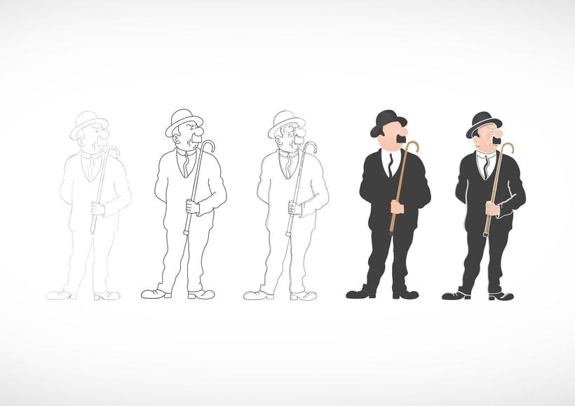 """Diseño de personajes de """"Las Aventuras de Tintín"""" 17"""