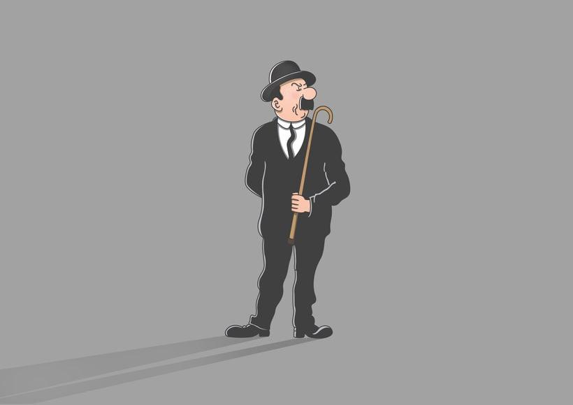 """Diseño de personajes de """"Las Aventuras de Tintín"""" 18"""