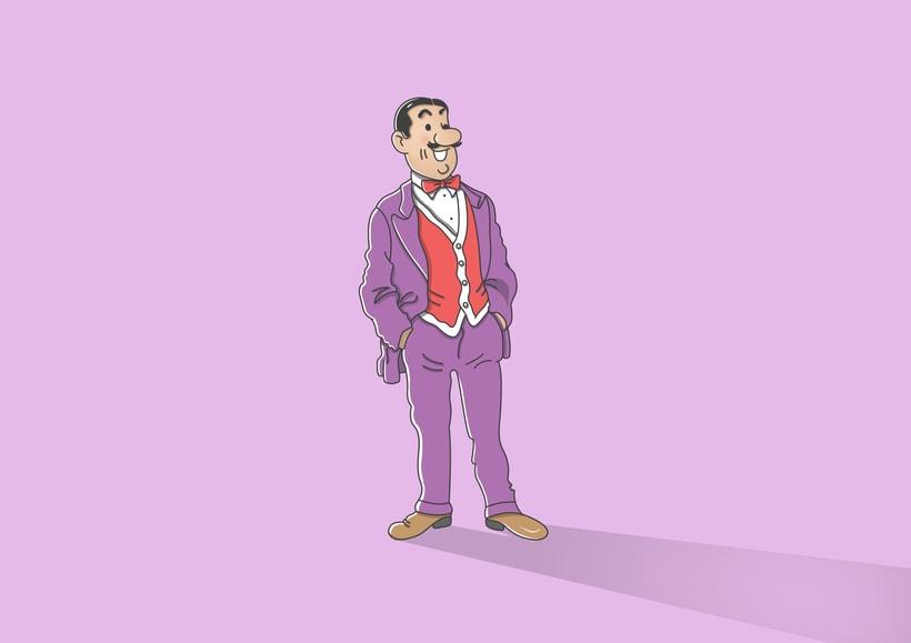 """Diseño de personajes de """"Las Aventuras de Tintín"""" 27"""