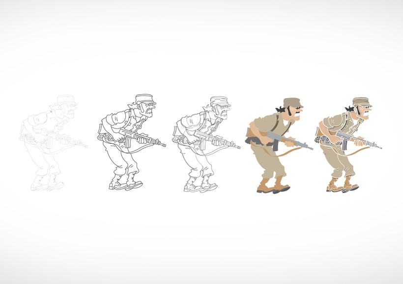 """Diseño de personajes de """"Las Aventuras de Tintín"""" 29"""