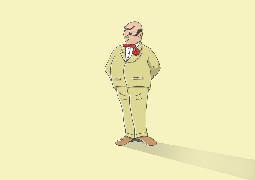 """Diseño de personajes de """"Las Aventuras de Tintín"""" 33"""