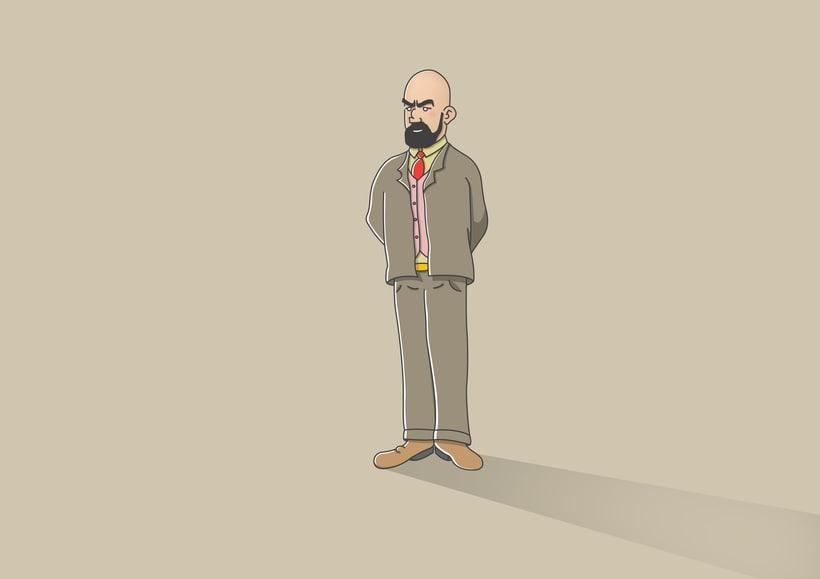 """Diseño de personajes de """"Las Aventuras de Tintín"""" 36"""