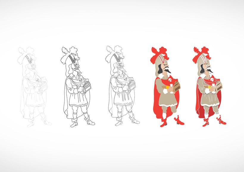"""Diseño de personajes de """"Las Aventuras de Tintín"""" 38"""