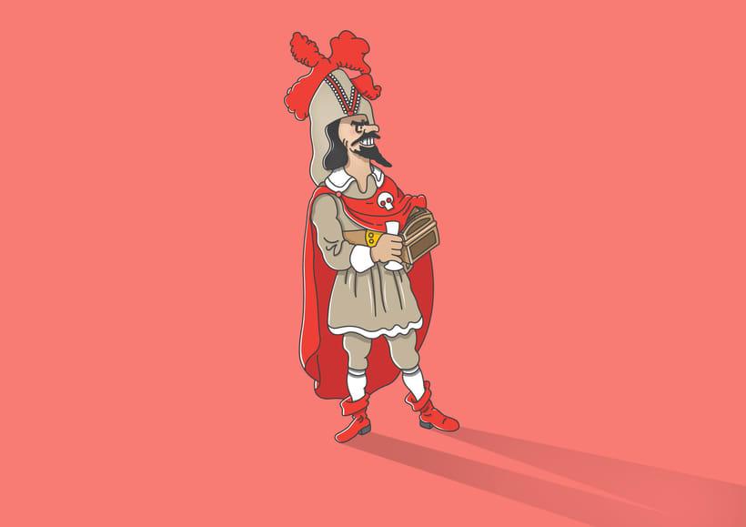 """Diseño de personajes de """"Las Aventuras de Tintín"""" 39"""