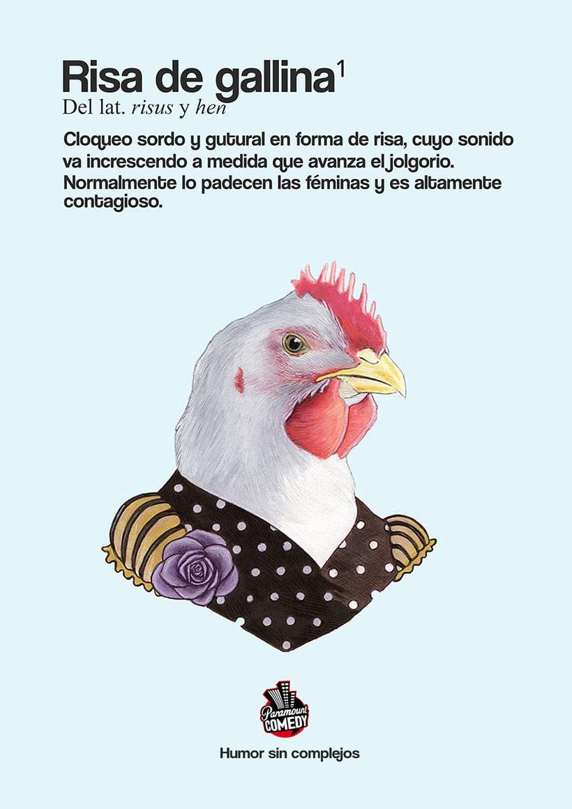 """Campaña Gráfica Paramount Comedy """"Humor sin complejos""""  0"""