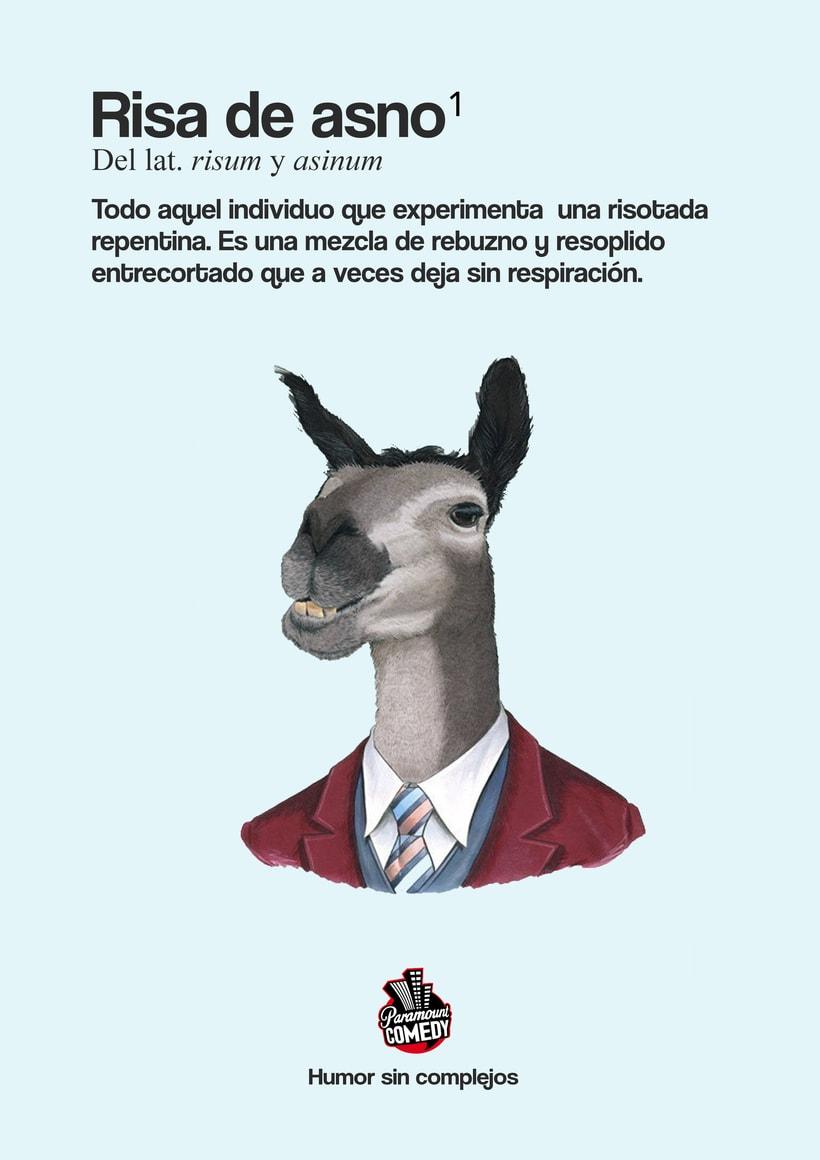 """Campaña Gráfica Paramount Comedy """"Humor sin complejos""""  1"""