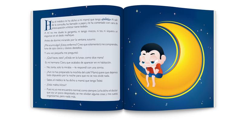 Ilustraciones y maquetación de cuento infantil  0