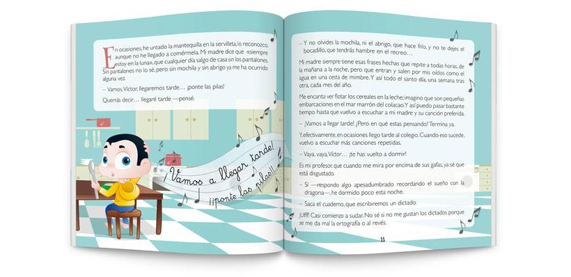 Ilustraciones y maquetación de cuento infantil  1