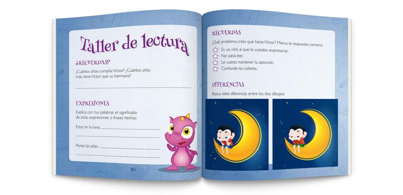 Ilustraciones y maquetación de cuento infantil  2