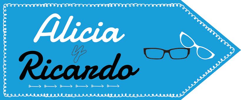 """Cartelería para boda """"Ricardo y Alicia"""" 3"""