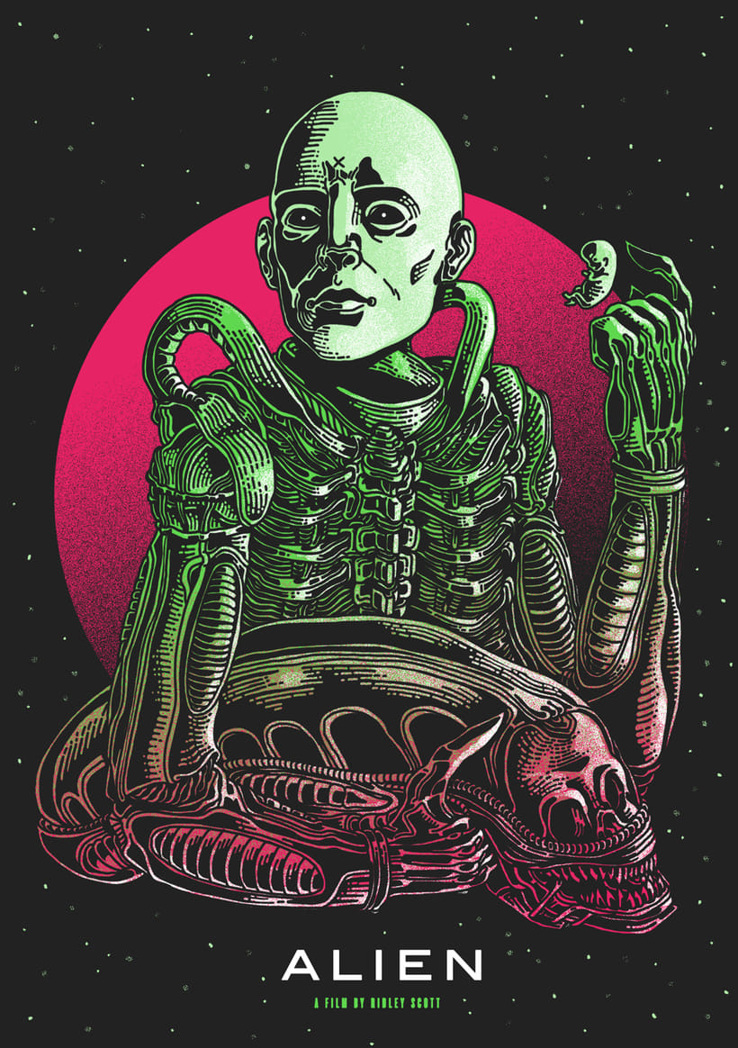 ALIEN HORROR SHOW BY NEW RULE COLLECTIVE 2