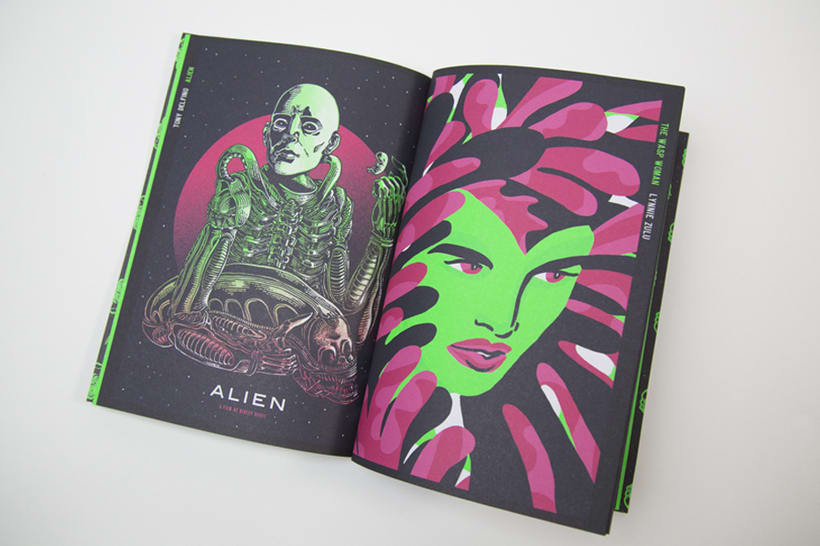 ALIEN HORROR SHOW BY NEW RULE COLLECTIVE 9