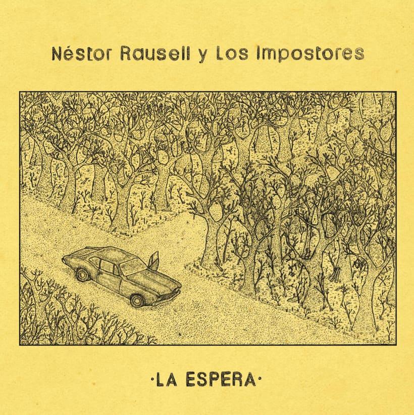 Artwork Ep Néstor Rausell y Los Impostores 0