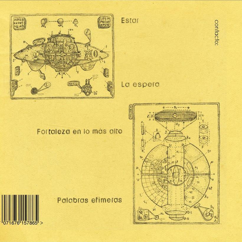 Artwork Ep Néstor Rausell y Los Impostores 1