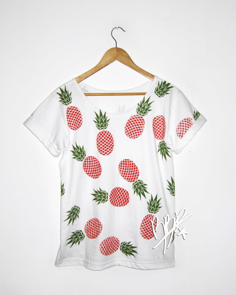 Franelas de Frutas Tropicales, Nueva colección.. 5
