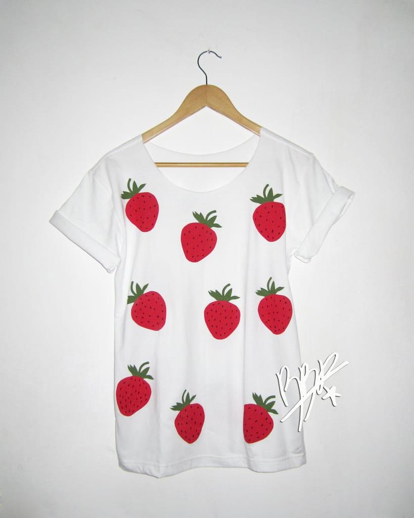 Franelas de Frutas Tropicales, Nueva colección.. 6