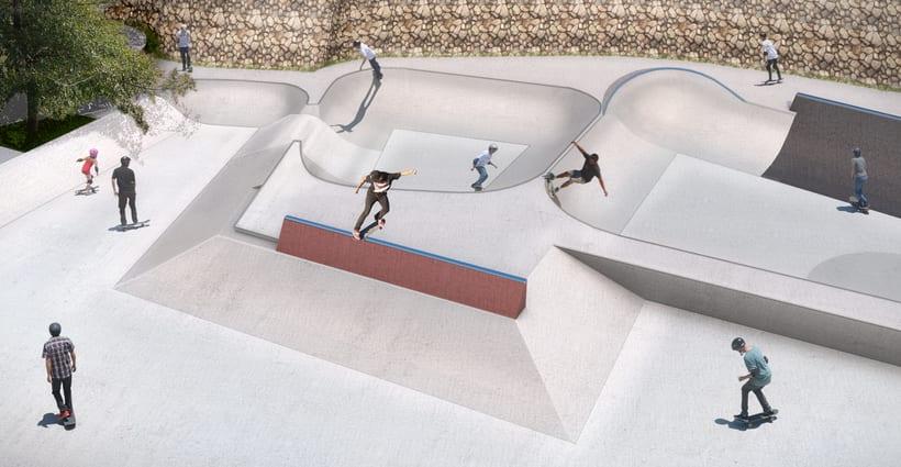 Nuevo Skatepark para la comuna de Vitacura 3