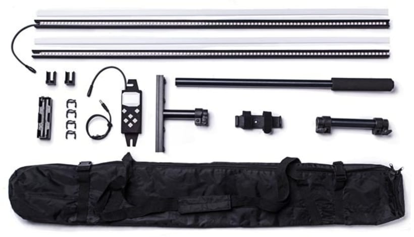 Pixelstick: un dispositivo para hacer lightpainting a nivel PRO 1