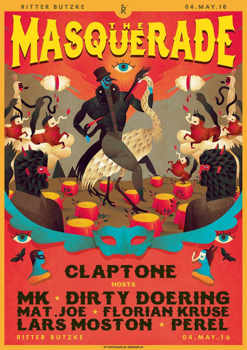 The Masquerade. Claptone 5
