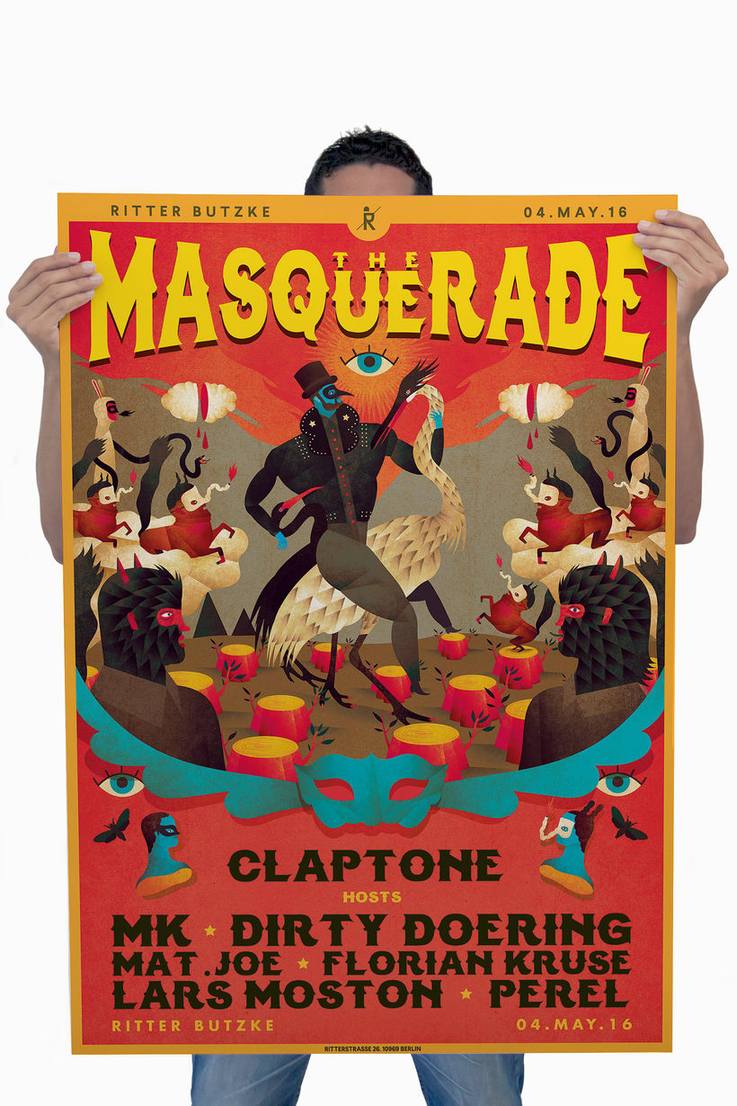 The Masquerade. Claptone 6