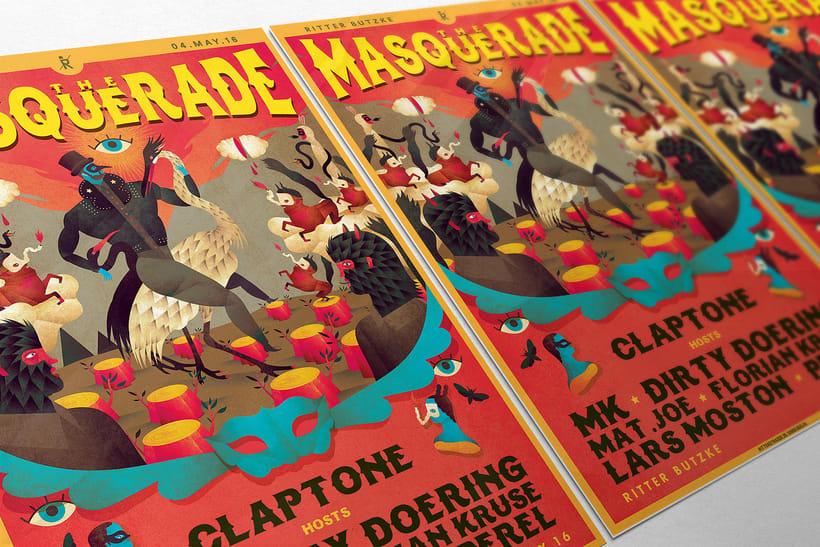 The Masquerade. Claptone 0