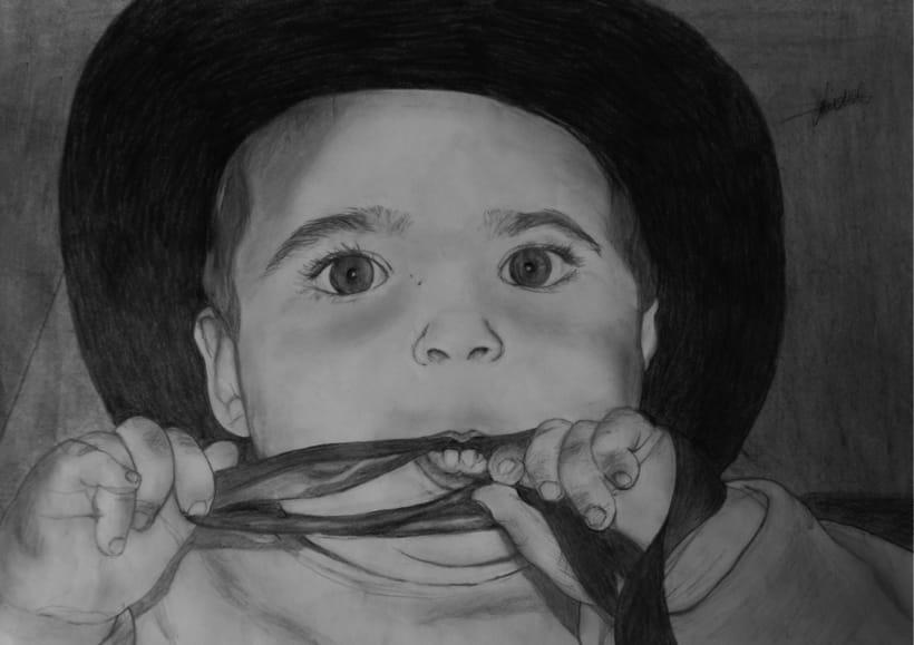 Retrato a lápiz -1