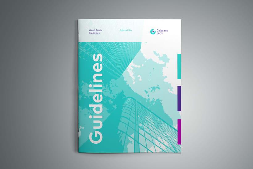 Guía de branding y recursos visuales (Calasanz Labs, 2015) 1