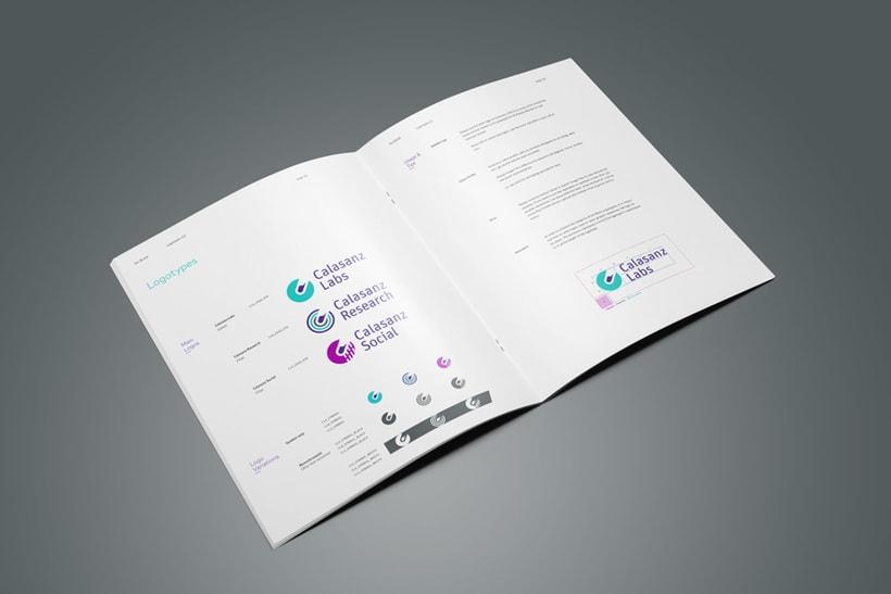 Guía de branding y recursos visuales (Calasanz Labs, 2015) 4