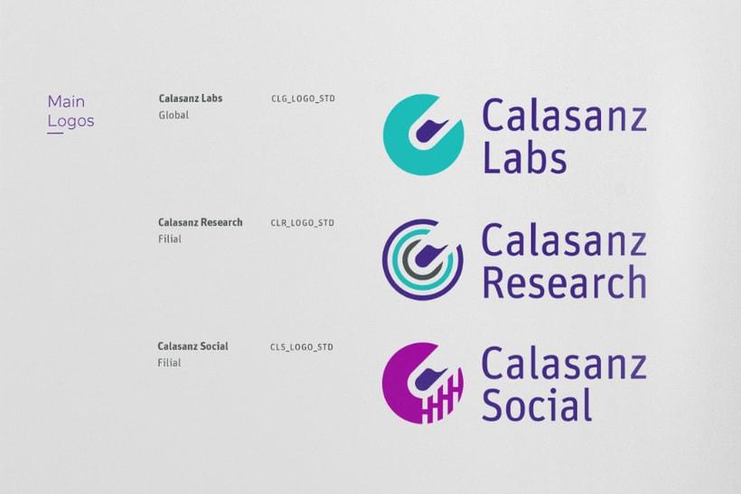 Guía de branding y recursos visuales (Calasanz Labs, 2015) 5