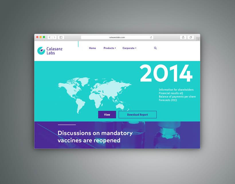 Guía de branding y recursos visuales (Calasanz Labs, 2015) 10