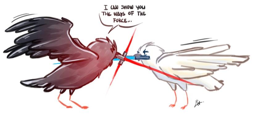 Kylo Ren drawings (Star Wars 7) 5