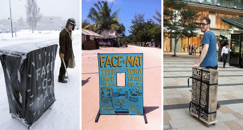 FACE-O-MAT: La máquina humana de retratos  7