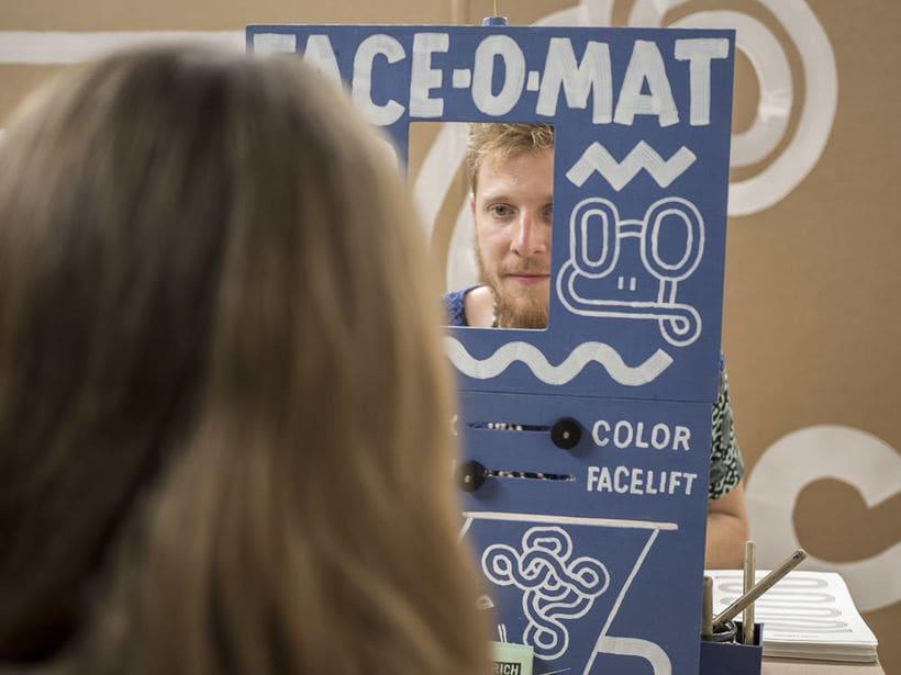 FACE-O-MAT: La máquina humana de retratos  2