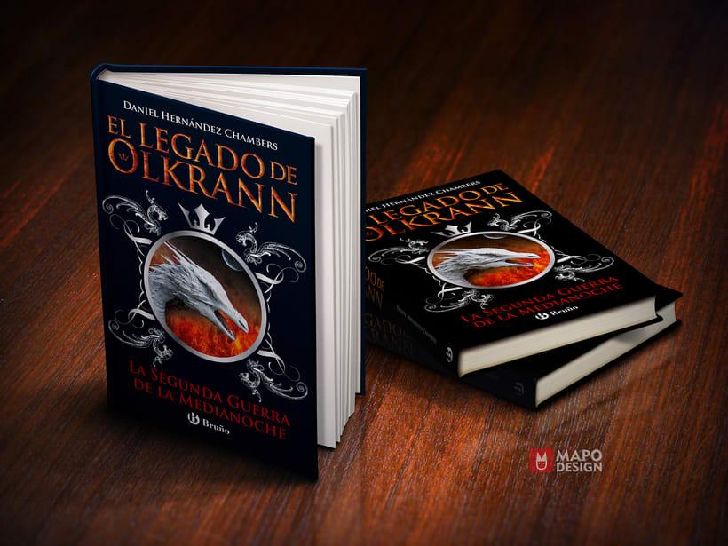 Diseño de colección y interior de El legado de Olkrann 1
