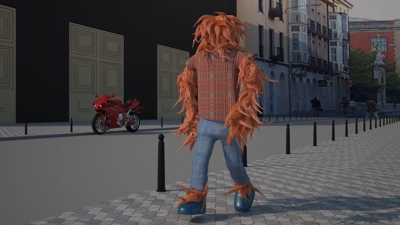 Especializado en Arquitectura y Diseño de Interiores, ahora aprendiendo modelado y animación de personajes 3