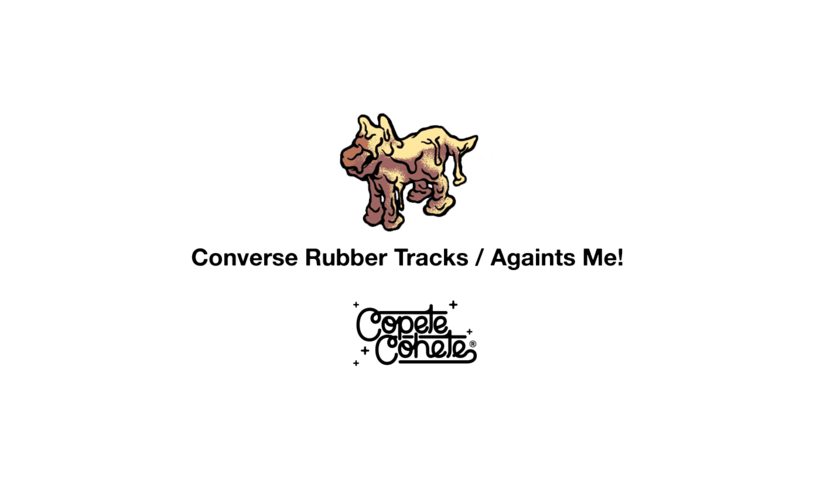 CONVERSE BUBBER TRACKS / AGAINTS ME! 0