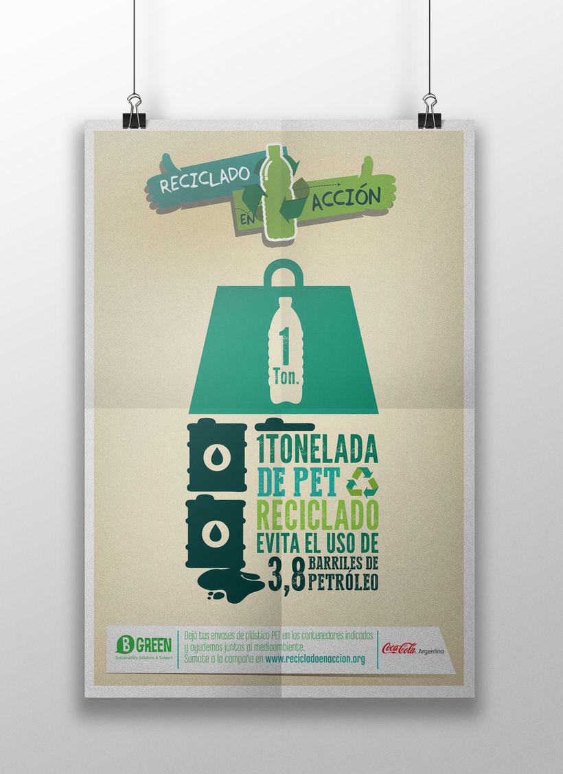 "Coca-Cola Be Green ""Reciclado en Acción"" 1"