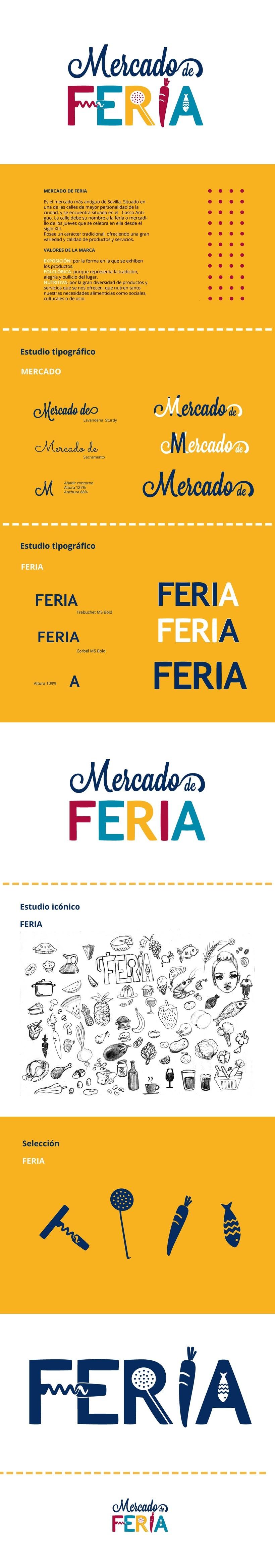 Realización de marca para el Mercado de Feria -1