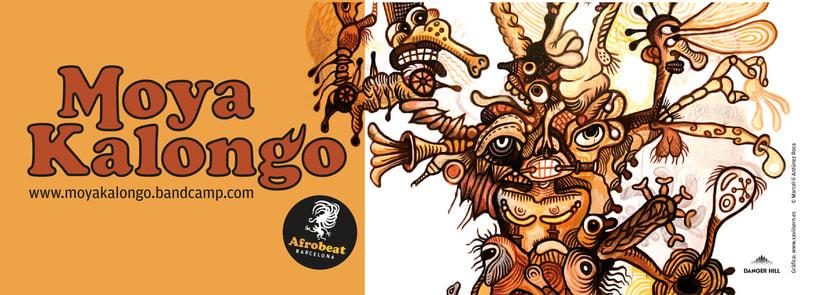 Logo + portada de disco y promocionales 2