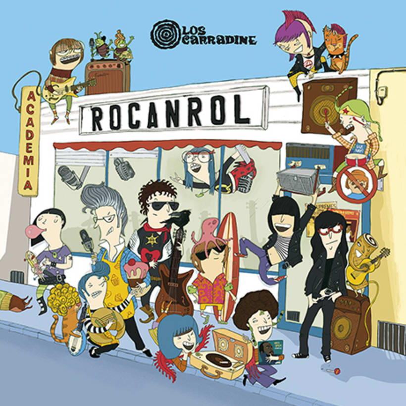 Academia Rocanrol LP 1