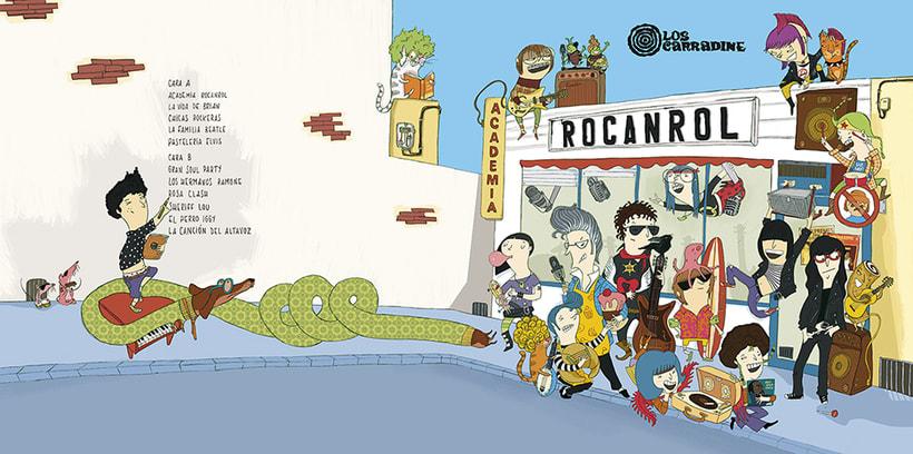 Academia Rocanrol LP 2