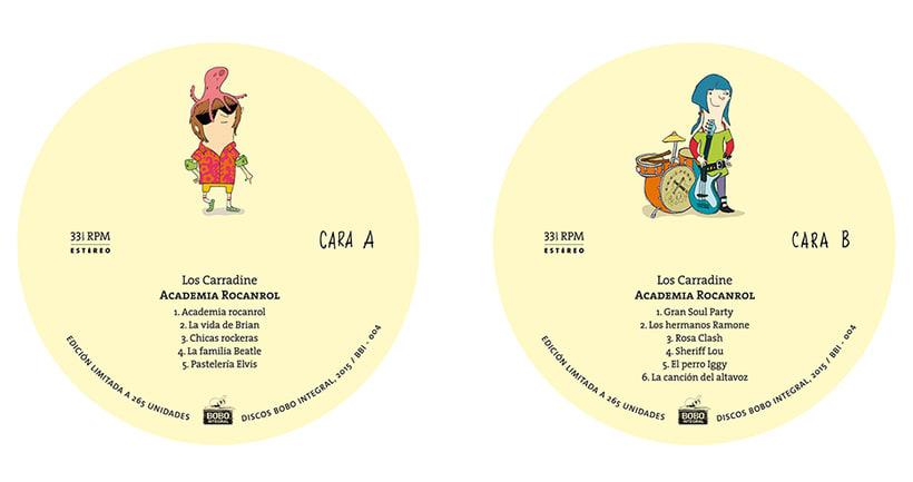 Academia Rocanrol LP 3