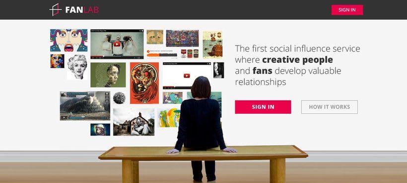 FanLab Website 0