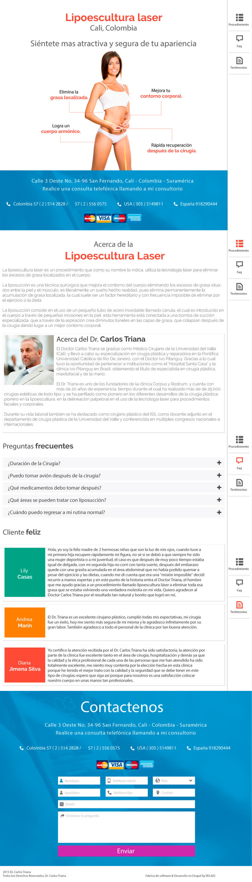 Landing page lipoescultura 1